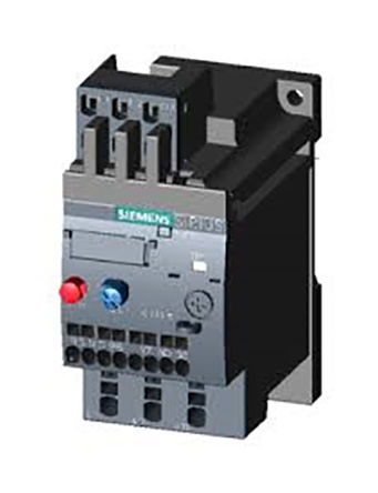 <br /> Siemens 3RU2116-1BC1 overload relay, NA / NC, with reset Automatic, manual, 2 A, Sirius, 3RU2