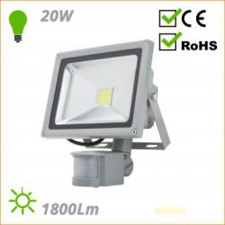 Exterior LED projector for with-PIR Motion Detector BQFS22520W