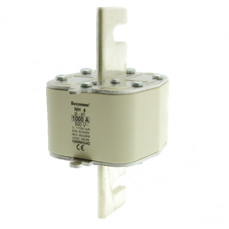1000NHG4G Bussmann Fuse GG low voltage, 500V, 1000A, NH4