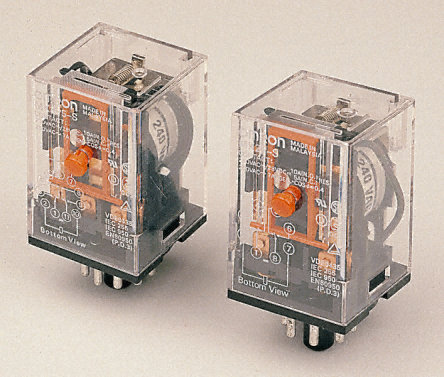 3PCO 11 Pin Relay with LED, 10A 230Vac