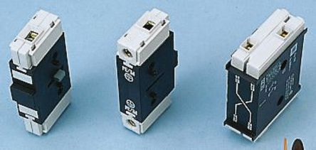 Auxiliary contact, mounting: side, terminal: Threading, 20 A, 690 V ac